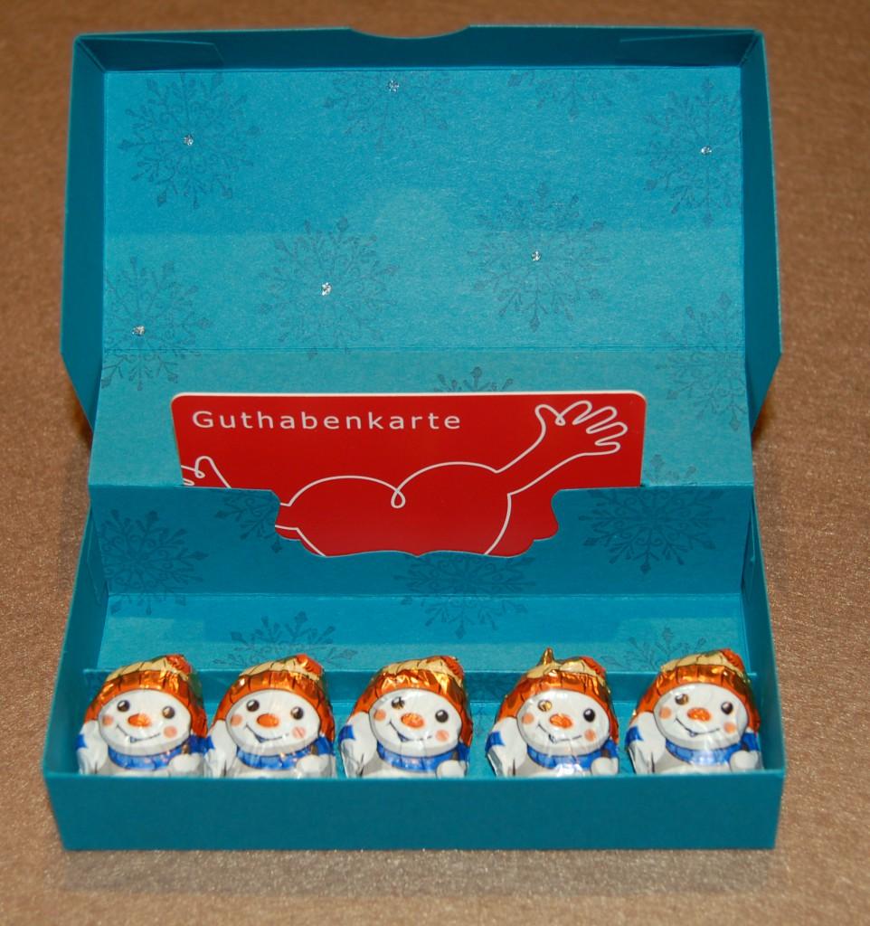 Gutschein-Karten-Box